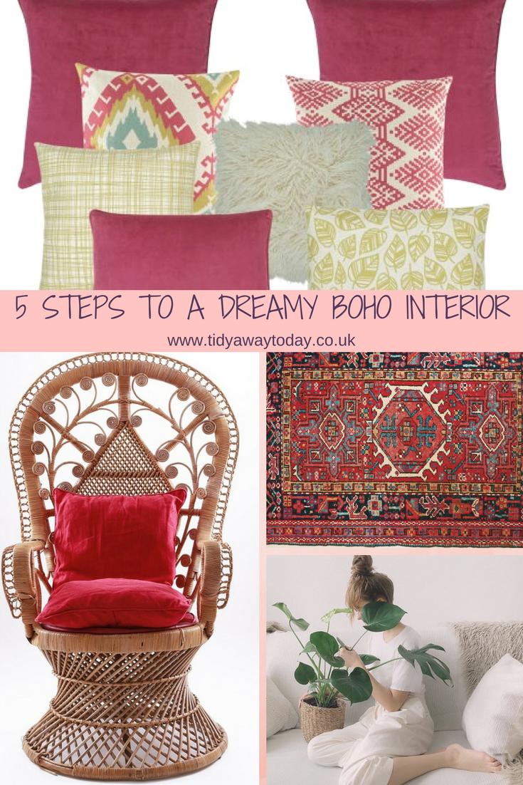 Boho Interiors on Pinterest