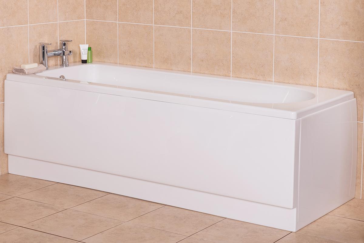 Modern bath at Bathroom Takeaway