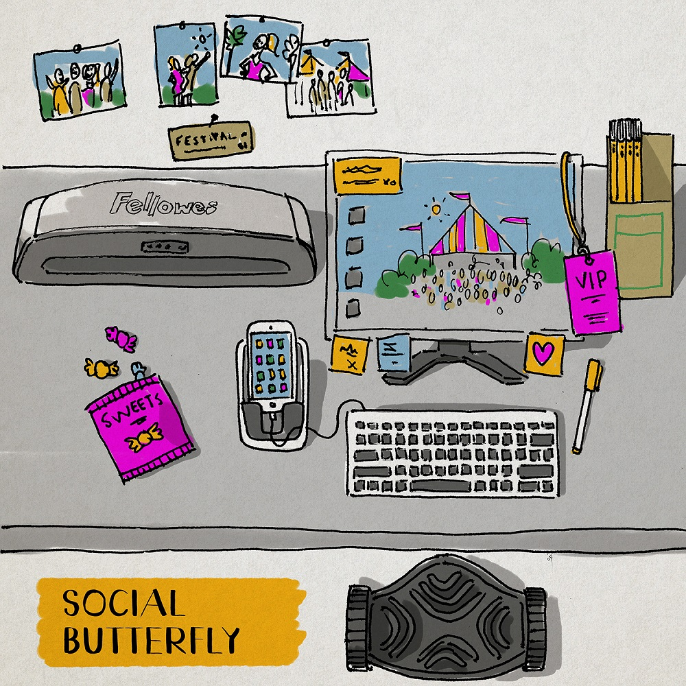 Are you a social butterfly?