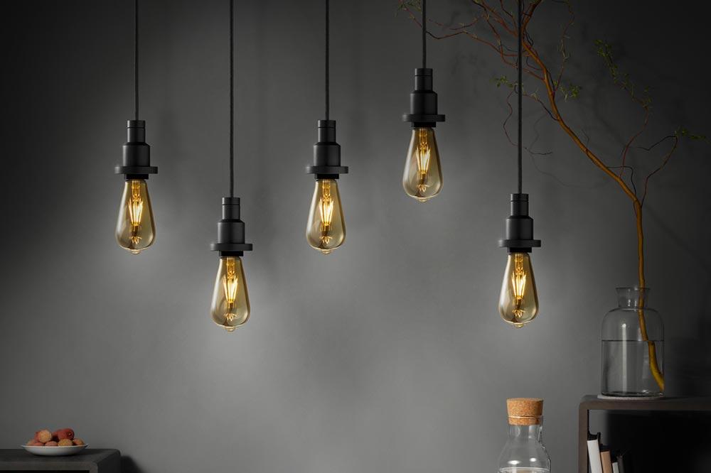 Hanging light bulbs UK