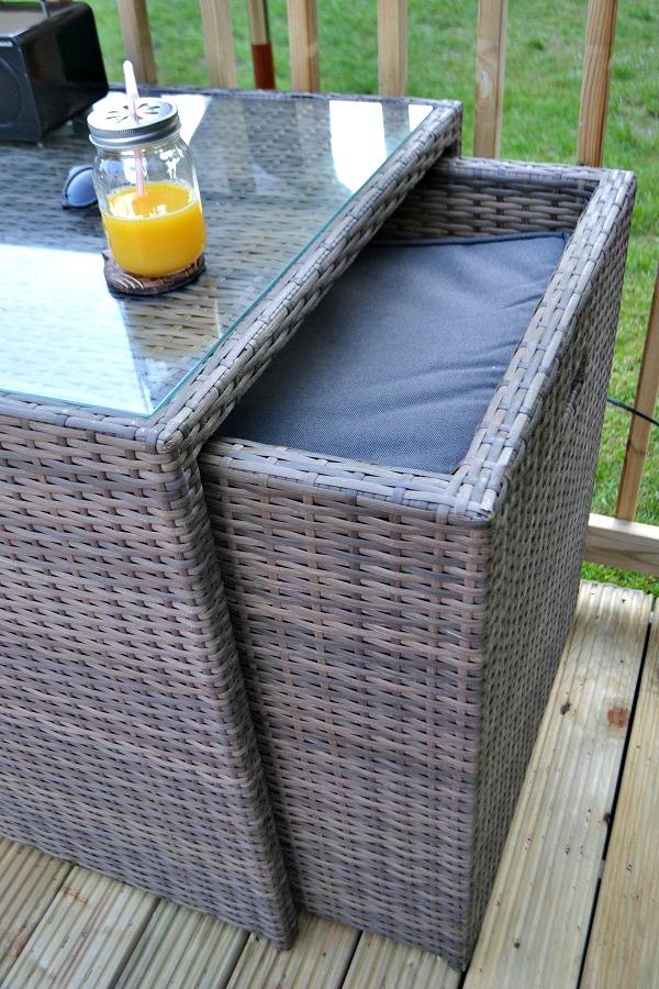 outdoor furniture. Creating a Heavenly Outdoor Space with  AsdaOutdoors   tidy away today