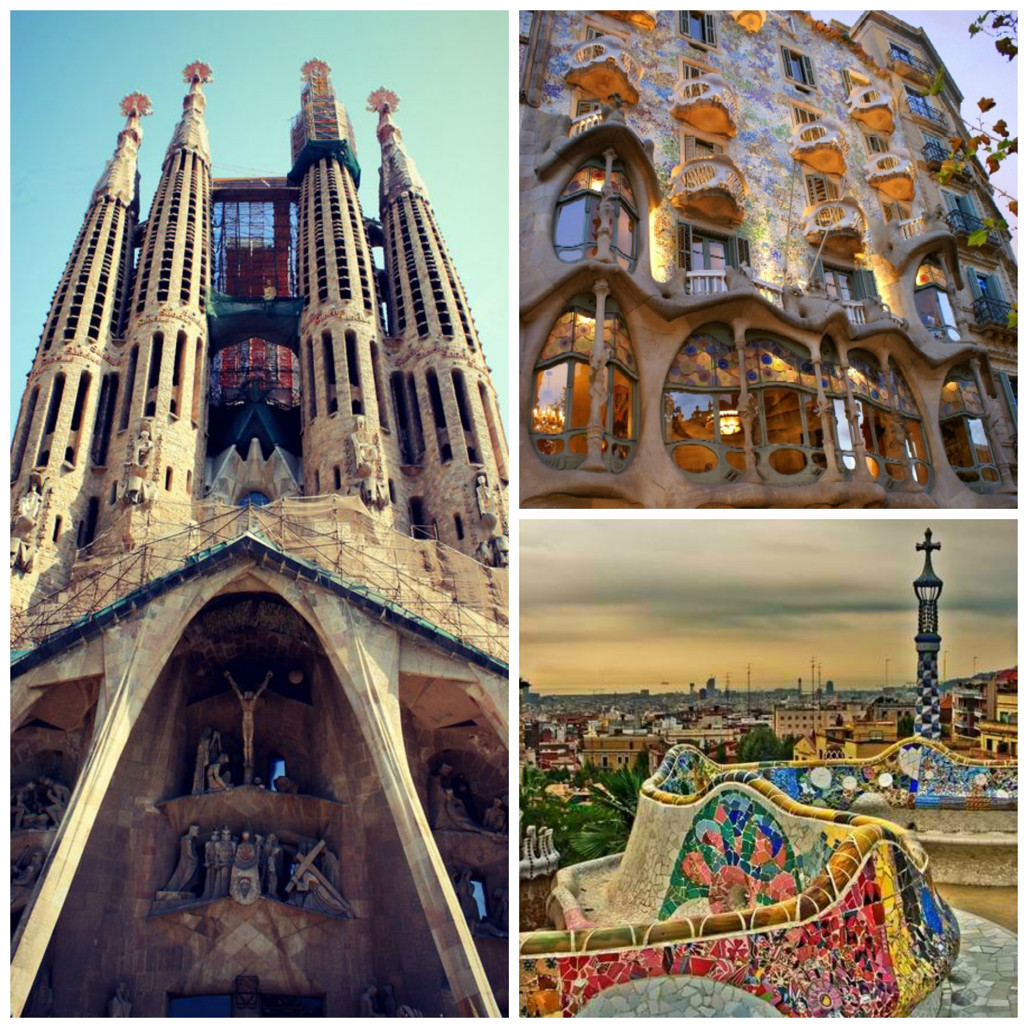 Barcelona Collage tidylife