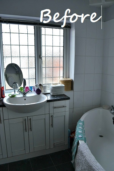 Bathroom Makeovers Uk bathroom refresh – getting the spa look on a budget – part 2