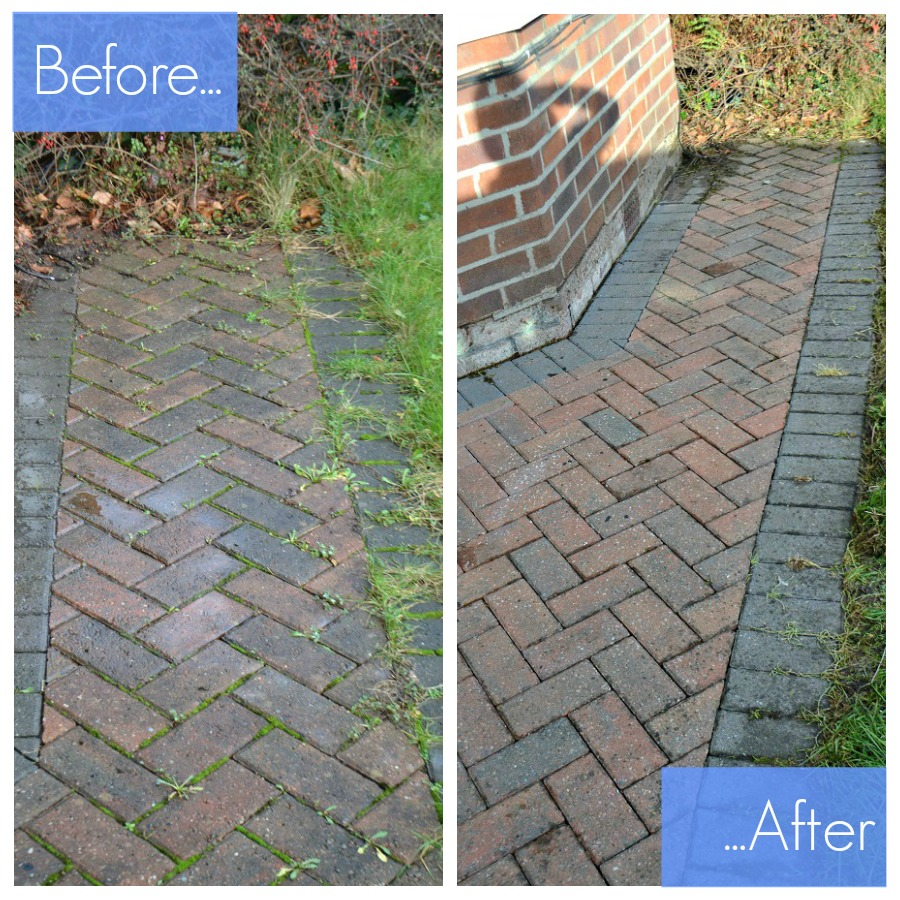 Karcher before and after