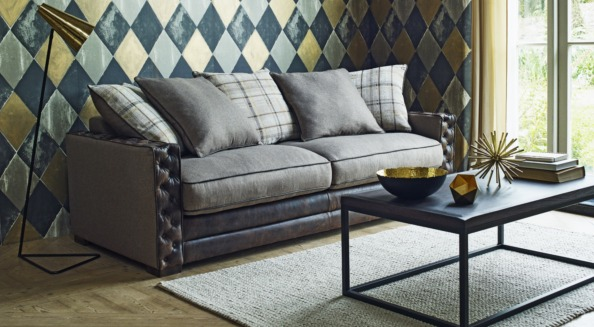 Glamorous sofa