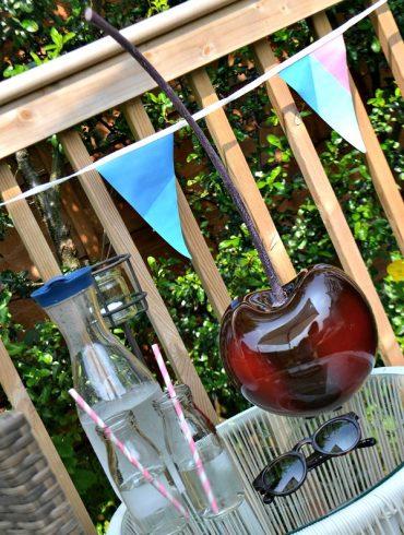 Wooden garden deck style