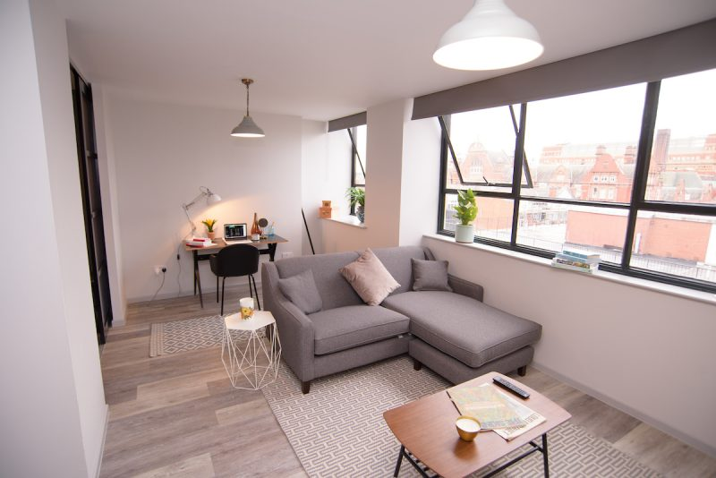 Manchester city centre apartment