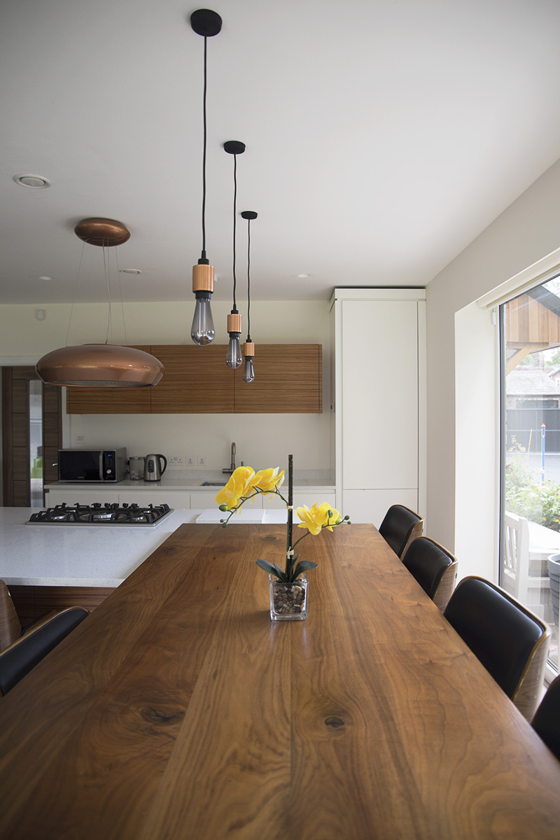 Kitchen feature lighting