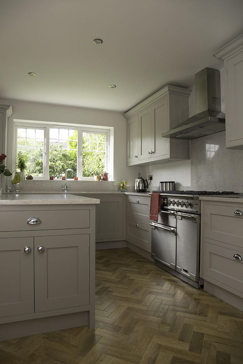 kitchen parquet floor