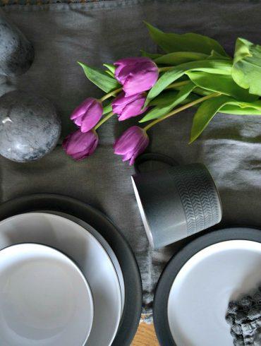 Denby pottery grey