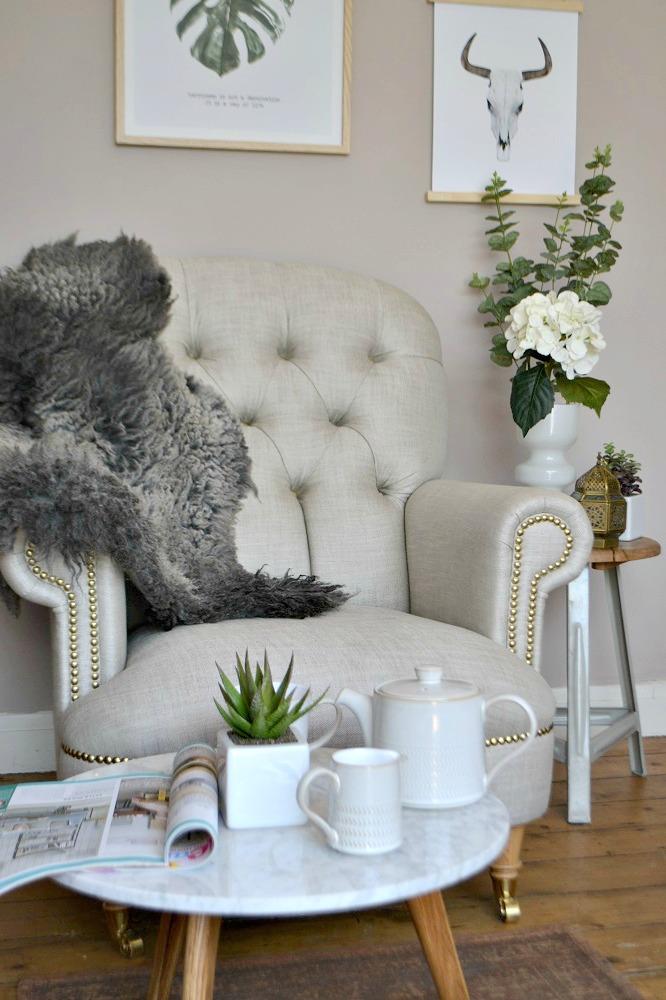 Denby Natural Canvas Tea Set
