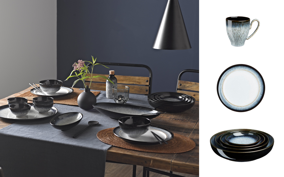 Denby Halo range ... & 5 Reasons to love Denby Halo Tableware - #tidylife