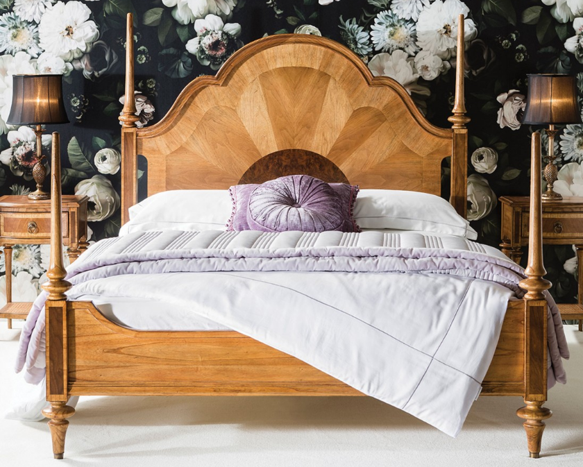 A Look at Frank Hudson's French Bedroom Furniture