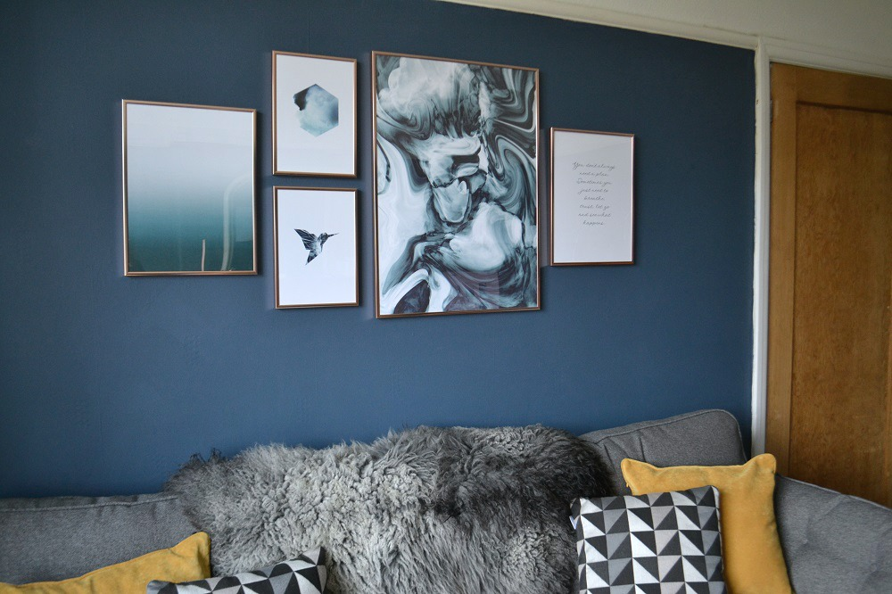 Create a Cool Picture Wall for Your Home with Desenio