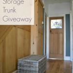 Wicker Storage Trunk Giveaway!