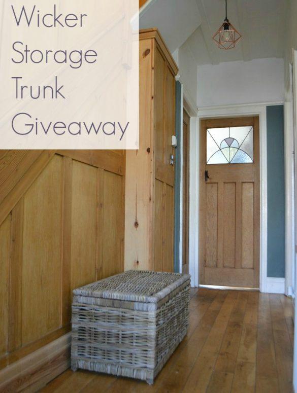 Win a wicker storage trunk