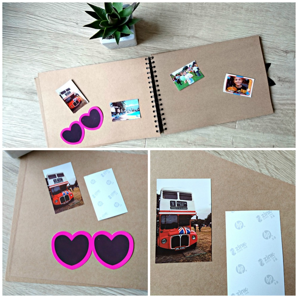 HP Sprocket Scrapbook