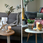 How to 'Hygge' Your Sofa Two Different Ways
