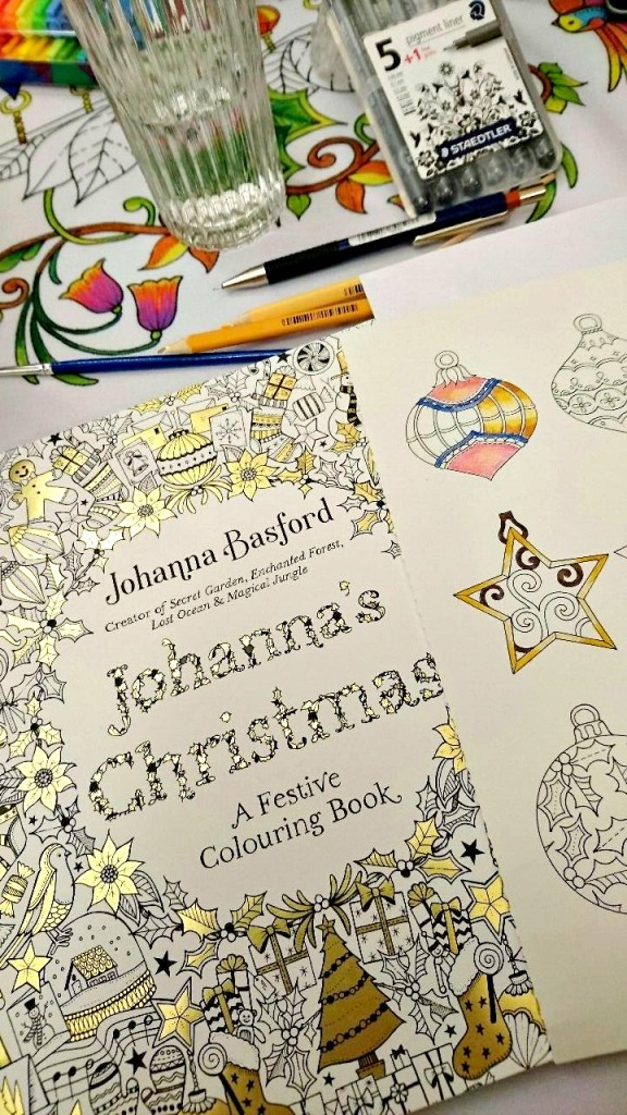 johannas christmas colouring book