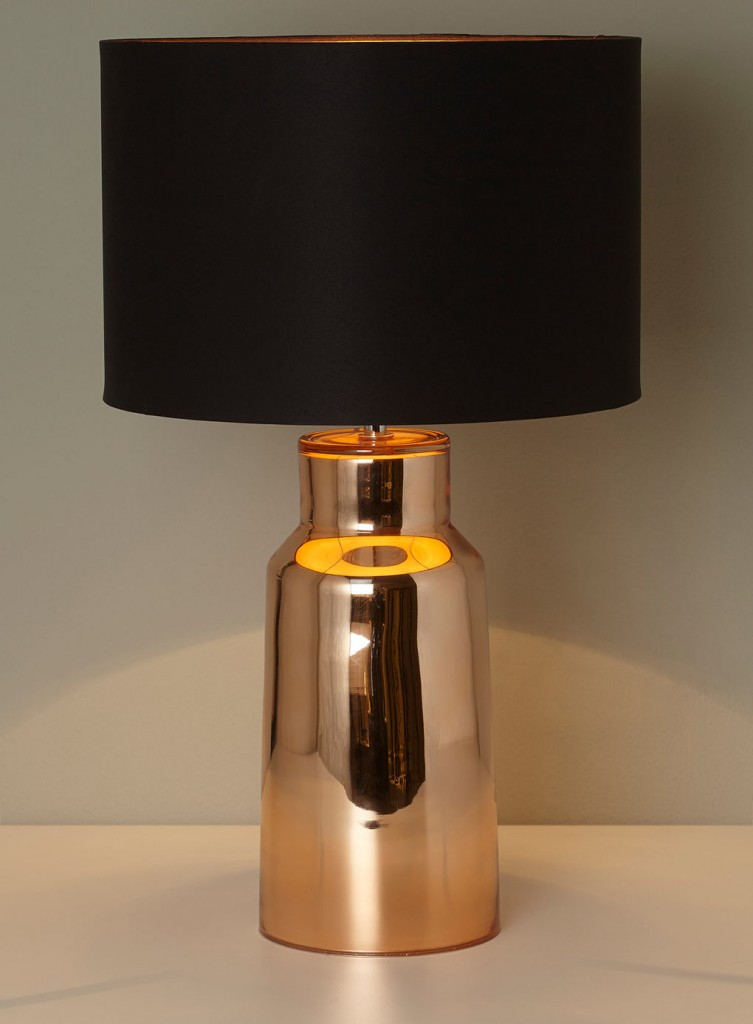 Copper Table Lamp Shade Illuminate Atelier. '