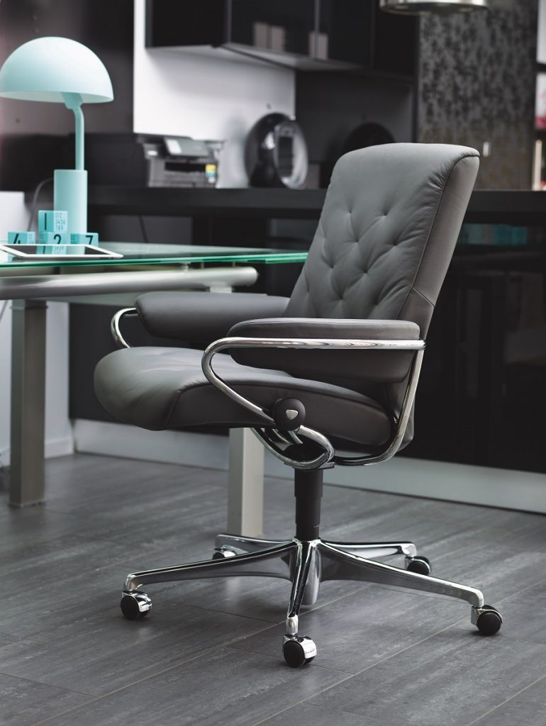 comfortable home office. Leather Office Chair Comfortable Home N