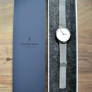 Nordgreen Native Silver Watch