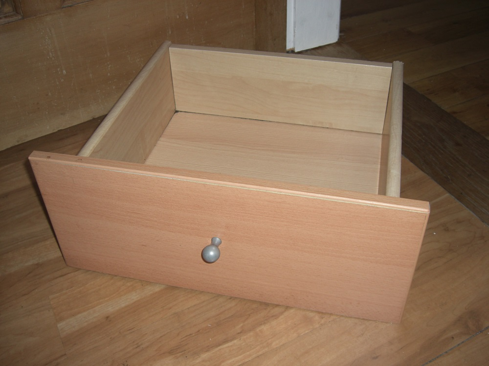 Upycled drawers