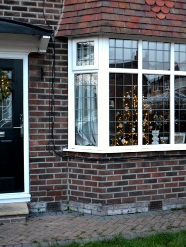 1930s house Christmas