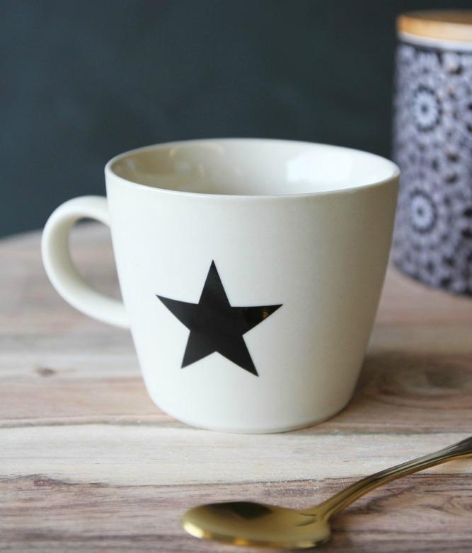 Star mug coffee shop