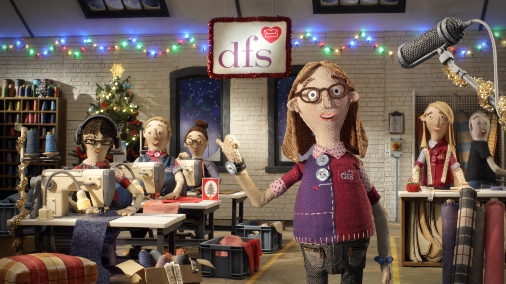 DFS Sofas Christmas Delivery