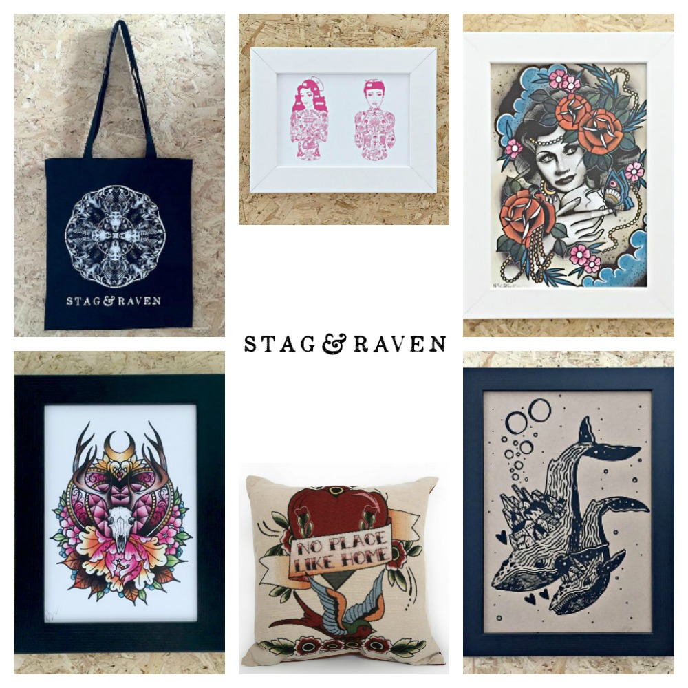 Tattoo art gifts prints