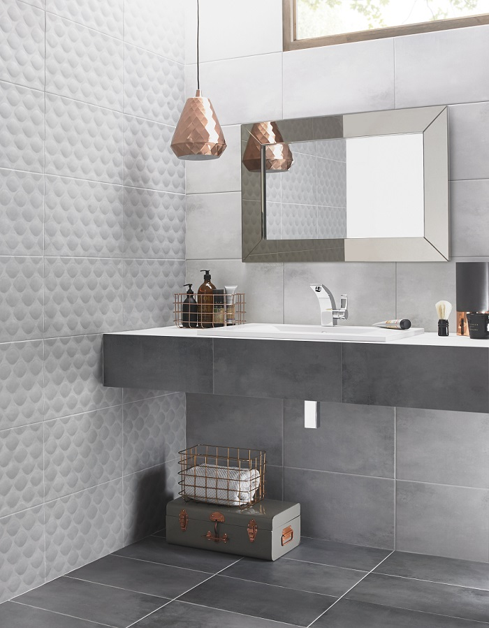 Ted Baker Tiles - Our Choice for the Perfect Shower Room - #tidylife