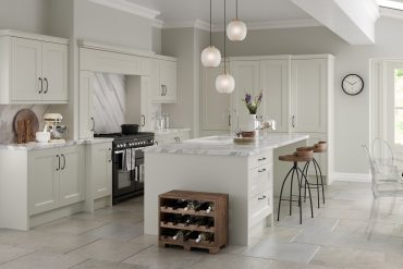 Make a kitchen look larger
