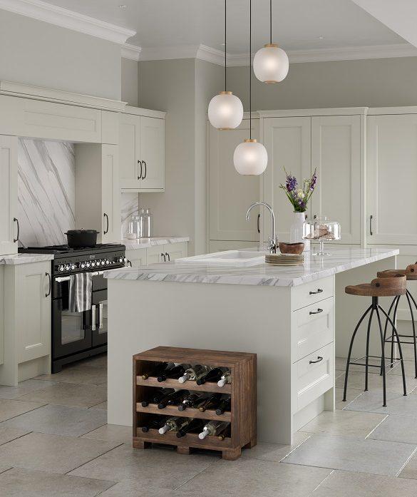 Make a kitchen look larger