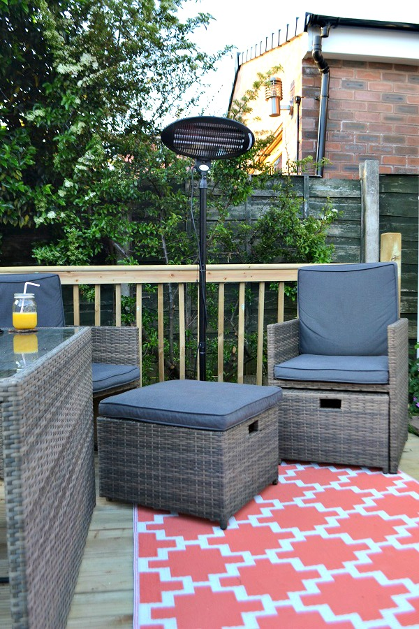 Asda Borneo set. Creating a Heavenly Outdoor Space with  AsdaOutdoors   tidy away today