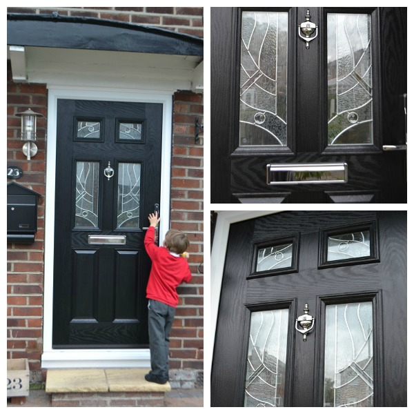 Our New Yale Front Door Tidylife