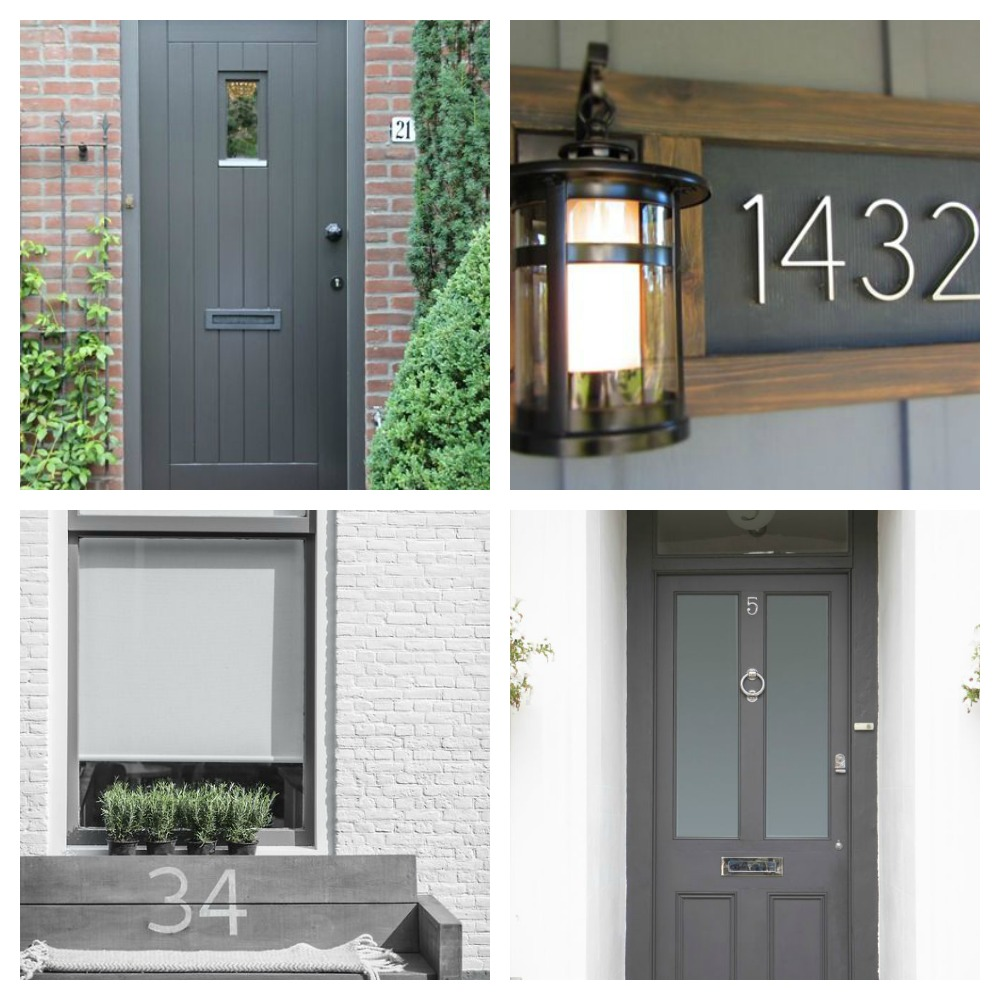 Yale Doors Amp Door Color Is Benjamin Moore Black Beauty