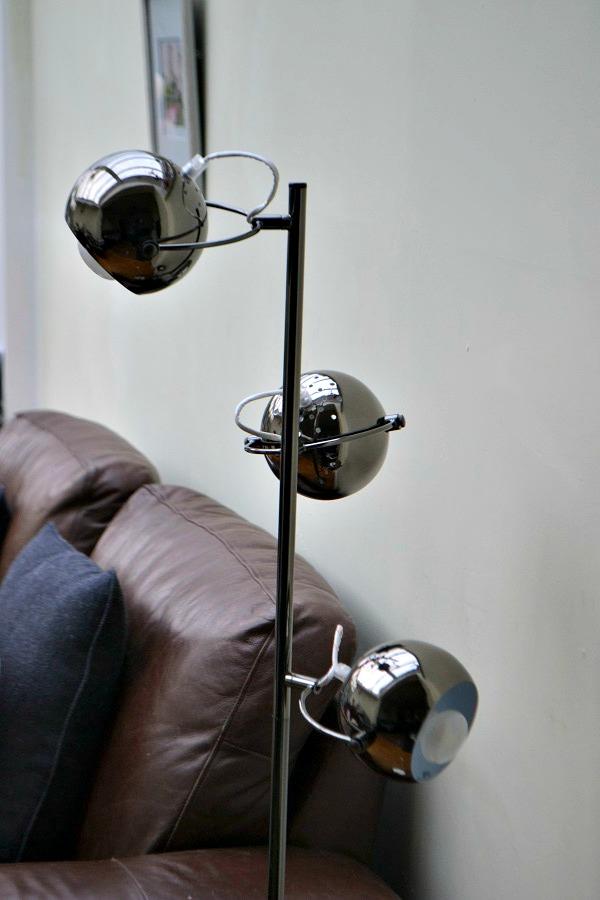 Retro 3 Way Eyeball Floor Lamp from Iconic Lights - #tidylife