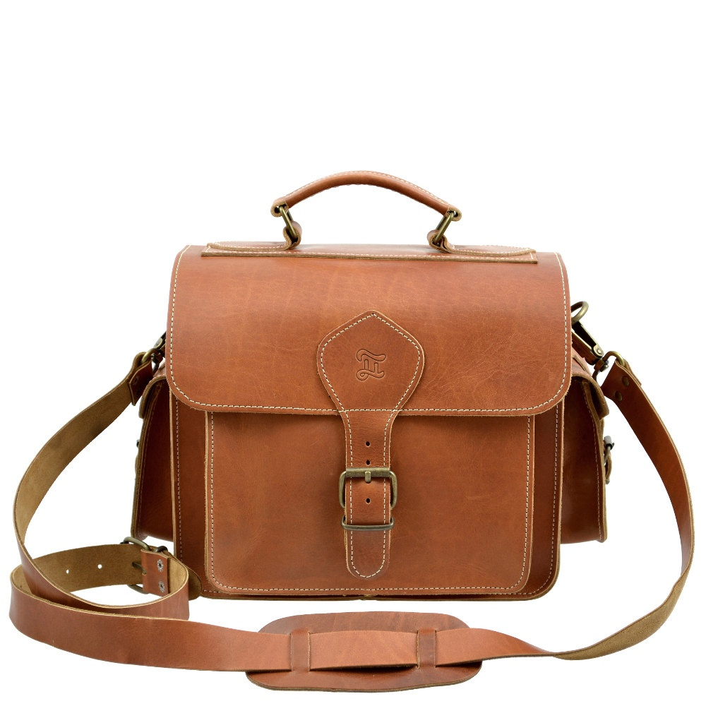 Grafea caramel camera bag