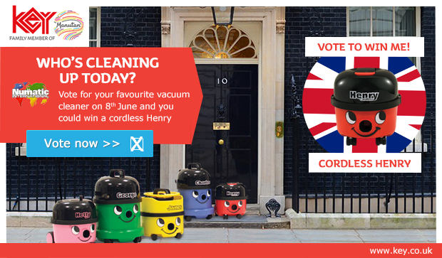 Win a Cordless Henry Vacuum Cleaner