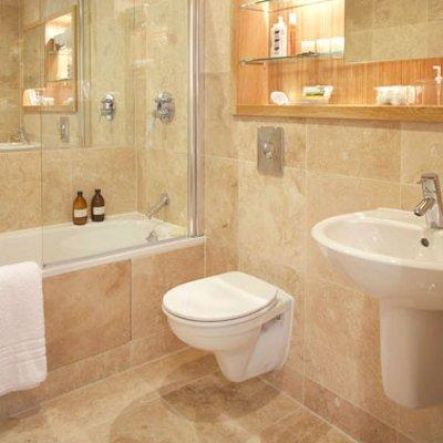 Suitable Cleaners For Stone Are Readily Available. A Bathroom Look That  Appeals To A Lot Of People Is A Spa Style One And I Think Travertine Tiles  Work ...