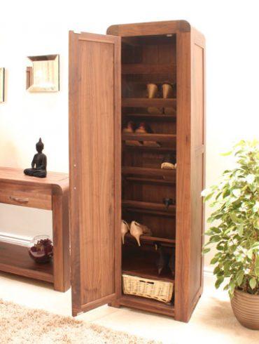 Tall shoe cupboard