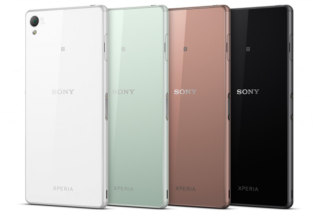 sony colours