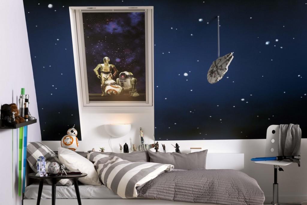 star wars loft room