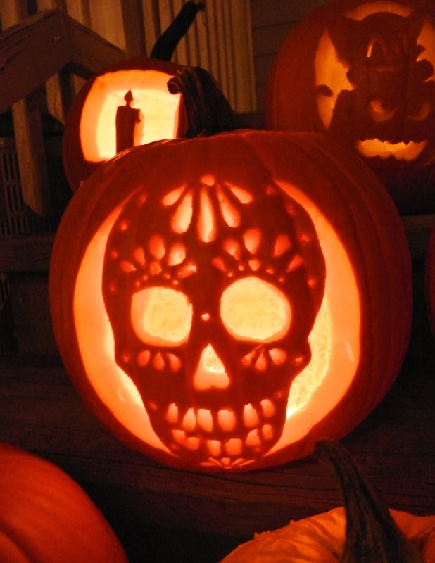 Drilliing pumpkins and a chance to win 1000 of ryobi Pumpkin carving designs photos