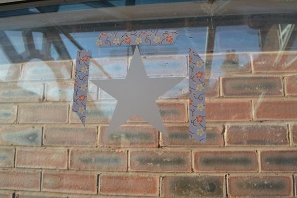 washi tape-star