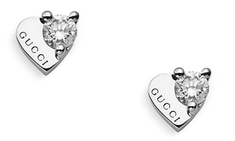 Gucci diamond stud earrings