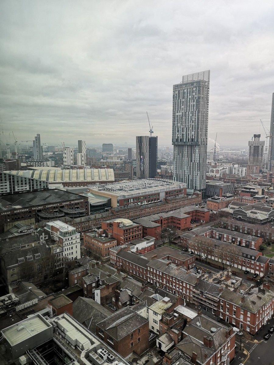View from 20 Stories Manchester