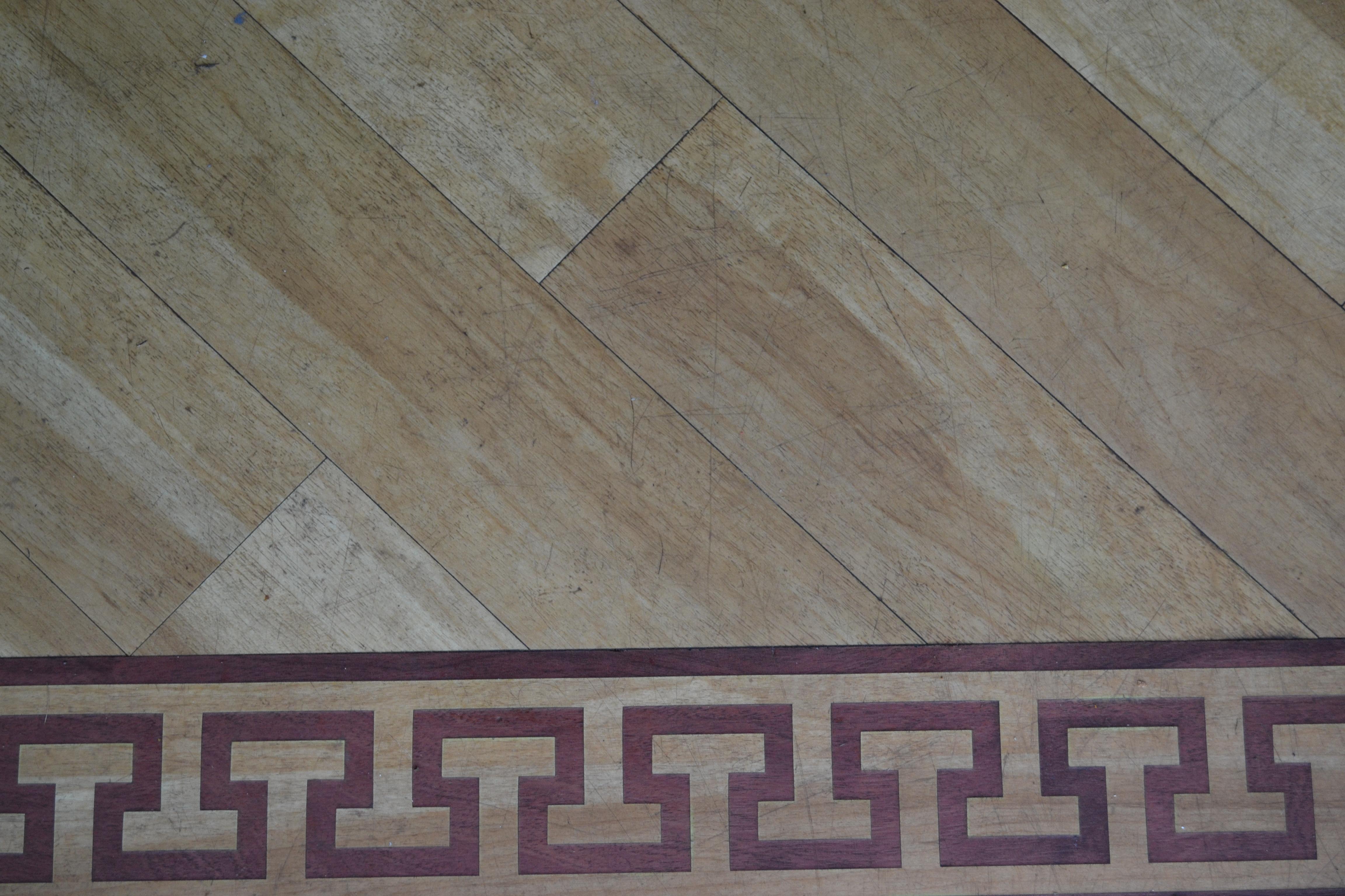Scuffed Karndean floor