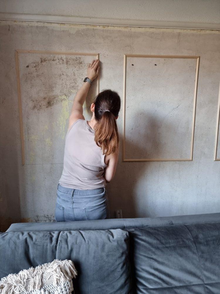 easy wall panels DIY